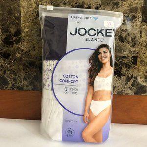 Jockey Elance 3 French Cuts Cotton Comfort